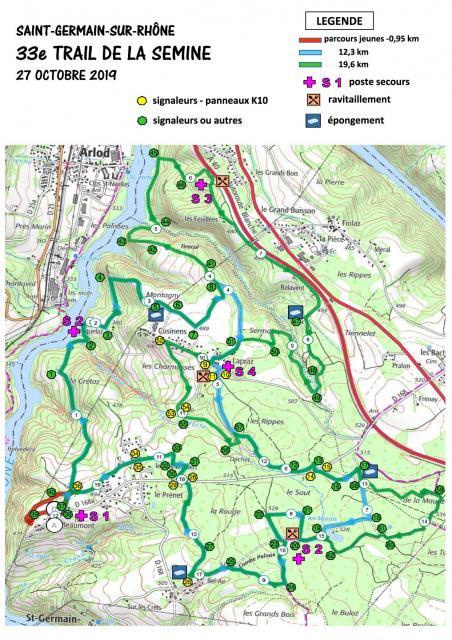 2019 parcours trail